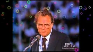 Billy Graham Message About Fleeing From God