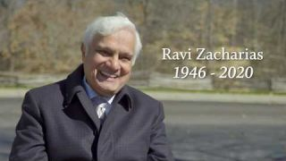 Ravi Zacharias at Billy Graham's Funeral