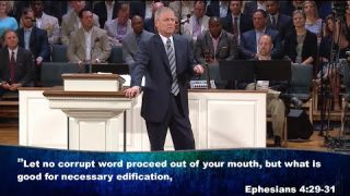 """Words Not of this World"" pastor Loran Livingston, Central Church July 24, 2016"