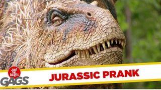 Jurassic Park Prank !