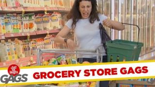 Grocery Store Pranks