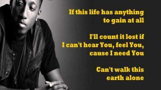 Boasting - Lecrae (feat. Anthony Evans) - lyrics on screen